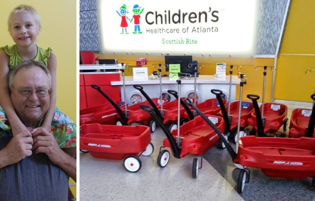 RED WAGONS REINVENTED:  Chad's Bracket Cheer Up Children with Cancer